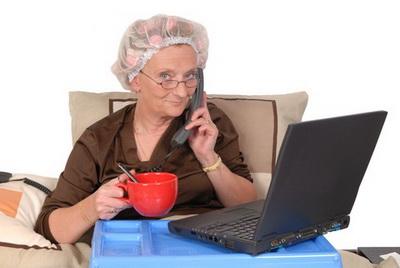 Компьютер в кровать, ноутбук на свидание…