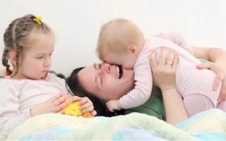 Преодоление ревности старшего ребенка к младшему