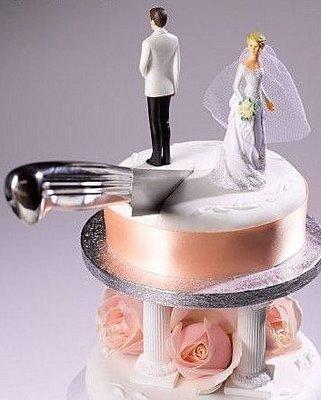 Мужчины труднее переносят развод